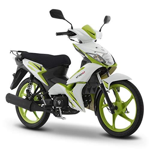 Motocicleta Italika de Trabajo- Modelo XT110 RT BLANCO VERDE