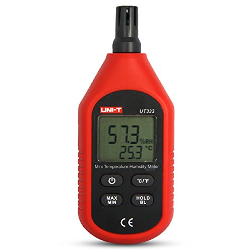 UNI-T UT333 Mini LCD Termómetro Higrómetro Digital Medidor Metros de Humedad Temperatura Sensor de Aire