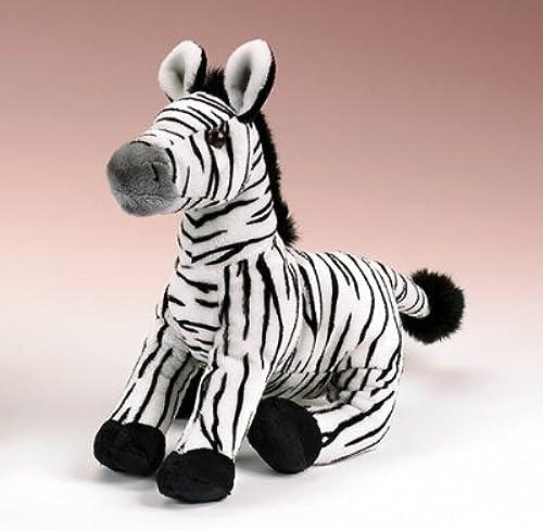 Zebra Plush Toy 12 by Wild Life Artist
