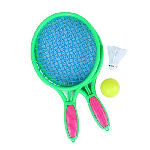 Mini-Tennisball-Federballschläger, Strandspielzeug für Kinder Familienaußenpool-Unterhaltungsspielzeug