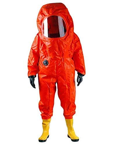 YOSAN Tuta da Lavoro Protettiva, PVC Rivestito e Neoprene Contro Agenti chimici, Polvere, Particelle nucleari - Tuta Protettiva antistatica