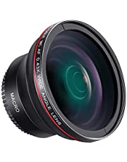 Neewer 58mm 0,43X HD groothoeklens met macro close-up Portion lens voor Canon EOS 700D 650D 600D 550D 500D 450D 400D 350D 100D DSLR camera's