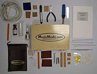 MUSICMEDIC.COM CLARINET REPAIR KIT 110V English Instructions