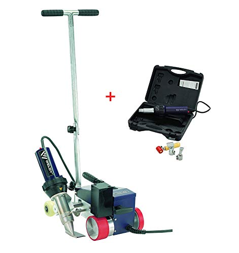 WELDY RW3400 Automatic Hot Air Welder for Welding Roofing TPO PVC Membrane,Hot Air Welder with 40mm Overlap Nozzle
