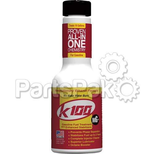 K100 57-4401 K-100 Fuel Treatment Gasoline W Enhanced Stabilizer 8oz
