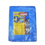 LEYENDAS Lona Impermeable Resistente para Lonas - Lona Azul. Multiusos para Tienda de campaña/Hamaca/Piscina/Jardín/Coche (4 x 5 m)