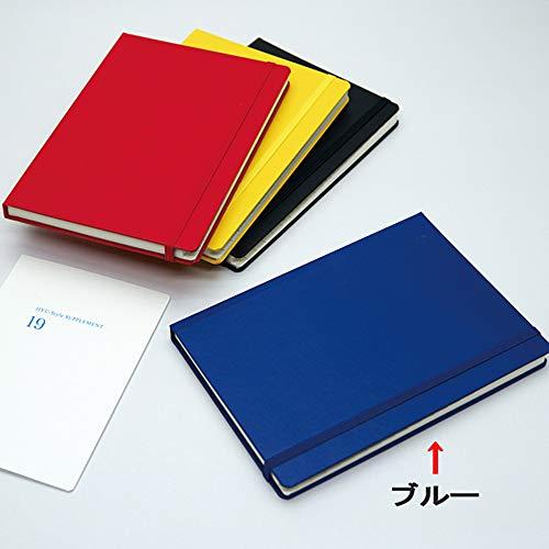 J-Line B6マンスリーノート・ブルー J3BL (2019年版4月始まり手帳) (JIYU-Style)