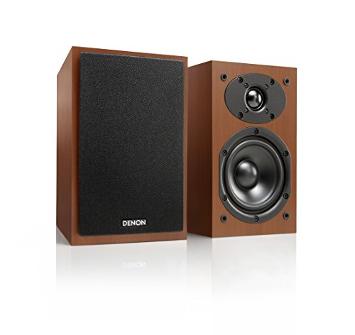 Denon sc-m4160W schwarz, Holz Lautsprecher-Lautsprecher (2Wege, 2.0-Kanal, verkabelt/kabellos, 3.5mm/USB/Bluetooth, 60W, Schwarz, Holz)