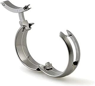 TG-1: Toggle-Pull Hinged Titanium Wedding Ring
