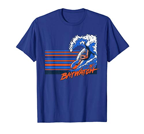 Baywatch Surfer T-Shirt in 9 Colors for Adults and Youth
