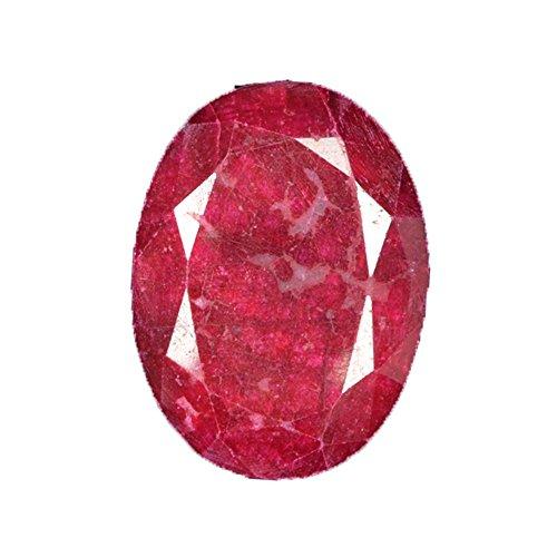 48,50 quilates de rubí rojo natural gema – 28 x 20 x 6 mm Egl certificado corte ovalado piedra suelta para anillo/colgante AR-633