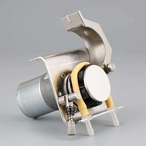 NBVCX Piezas de maquinaria Bomba peristáltica Bomba dosificadora Motor de CC Tubería de Manguera Bomba Laboratorio de Acuario