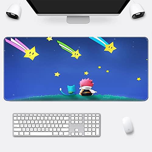Fairy Tail Alfombrilla para ratón Speed Gaming XXL 800 x 400 mm - XXL Mousepad Mouse Pad - Base para Mesa Grandes Dimensiones - Mejora la precisión y la Velocidad - Resistente-H1_300*800*3mm