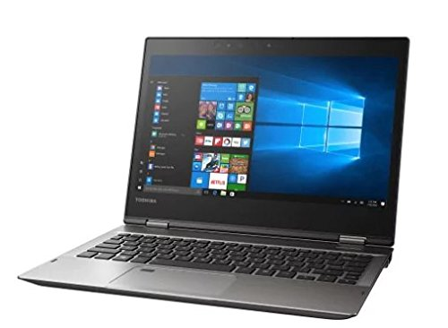 Toshiba Portege X20W-D58E1M Signature Edition 2 in 1 PC • 12.5-inch Full HD Touchscreen • Intel Core i5-7200U 2.50 GHz • 8GB LPDDR3 RAM • 256GB SSD • Windows 10 Pro