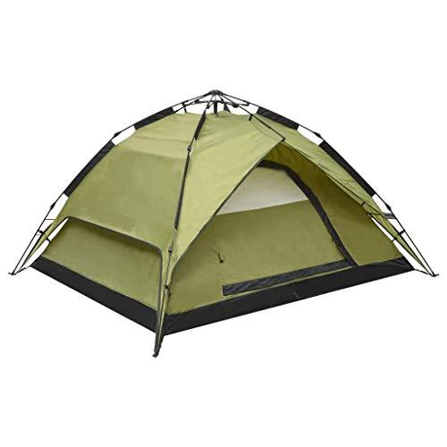 vidaXL Pop-Up-Campingzelt 2-3 Personen 240×210×140 cm Grün