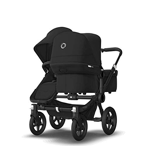 Bugaboo Donkey3 Mono + Duo Complete - Ready for 2 Kids of Different Ages - Black