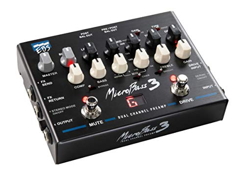EBS MicroBass 3 2-Channel Preamp