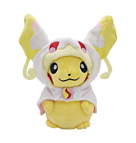 Charizard Pikachu Plush Stuffed Animal Toy Pikachu Go Pillow 9.8'(White)