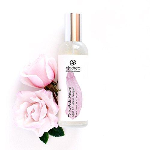 Tónico Facial de Agua de Rosas Ecologico 100 ml