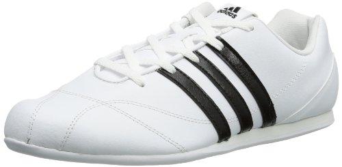 adidas Naloa III, Zapatillas de Estar por casa Mujer, Blanco-Weiß (White/Black 1 / Black 1), 36 2/3