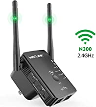 WAVLINK 2.4G 300Mbps Wi-Fi Range Extender Repeater/Wireless Access Point/Router 3 in 1, Internet Signal Booster WiFi Amplifier for Whole Home WiFi Coverage, No WiFi Dead Zone for Working from Home