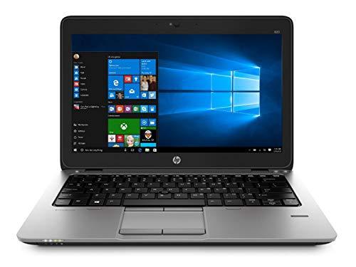 HP EliteBook 820 G2 Laptop Black/Silver, 12.5 inch Screen Installed with Windows 10 Professional 64bit Powerful Intel Core i5-5300u, 8GB RAM, 256GB SSD (Renewed) (Refurbished)