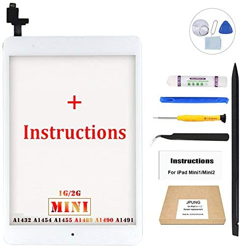 for iPad 4 Glass Touch Screen Digitizer Replacement Kit Black A1458