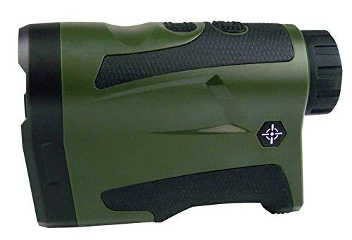 Laserafstandsmeter met meetcontrole en leeg-accu.
