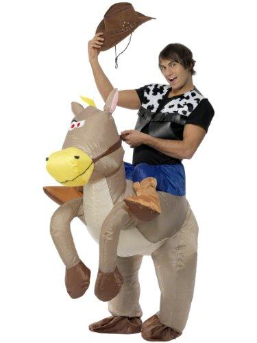 Smiffys Costume de rodéo cowboy gonflable