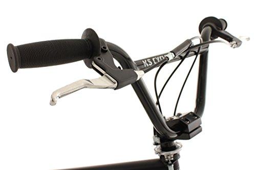 KS Cycling Fahrrad BMX Freestyle Fatt schwarz, 20 - 5