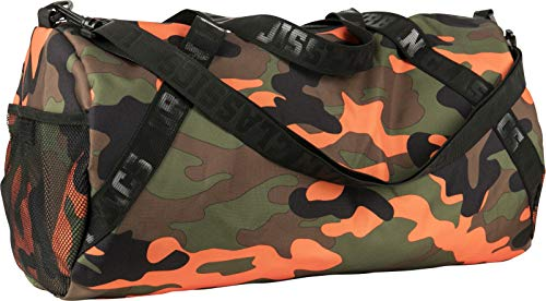 Urban Classics Sports Bag Sporttasche, 51 cm, Orange Camo