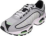 Nike Air MAX Tailwind IV, Running Shoe Hombre, Gris Lobo/Blanco/Negro/Verde Chispa, 44 EU