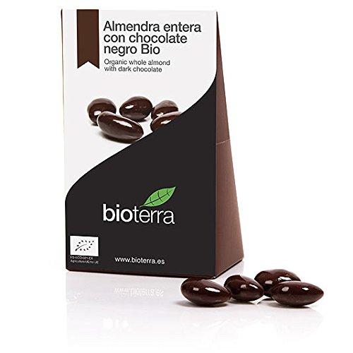 Bioterra, almendra ecológica con chocolate negro Bio 100g