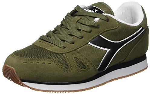 Diadora Simple Run, Chaussures de Gymnastique Homme, Vert (Verde Oliva Bruciato 70431), 40 EU