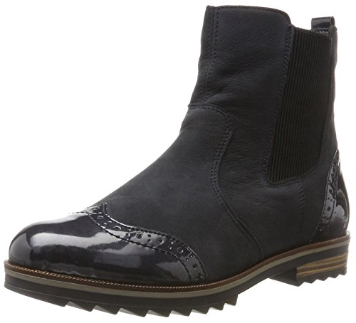 Remonte Damen R2281 Chelsea Boots, Blau (Pazifik/Navy 15), 41 EU