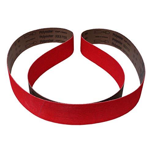 VSM XK870X Schleifband/Gewebe Schleifbänder | 150x2000 mm | 10 Stück | Korn/Körnung: 80 (10 Bänder)