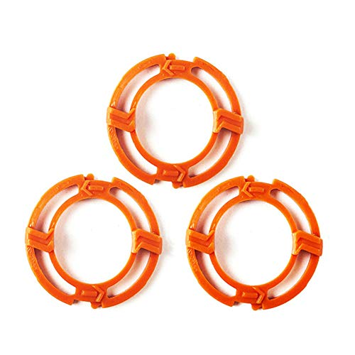 Life-Q 3pcs Blade Retaining Rings Retaining-Plate Holder Compatible with PHlip SH70 SH90 Series S7000 S9000