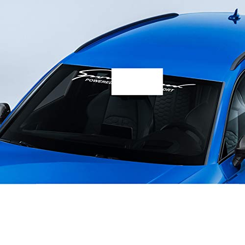 Wongzt Etiqueta engomada del Parabrisas Trasero Delantero del Coche, para Audi A3 8P 8V 8L A4 B8 A6 C6 S1 S2 S3 S4 S5 S6 S7 S8 SQ5 SQ7 Auto Accesorios