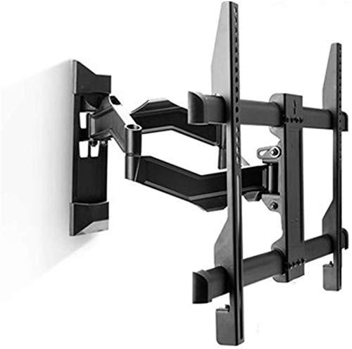 Soporte tv suelo Monte de TV Montaje de pared grande TV Bracketw / TV Soporte de montaje en pared para 32 -75 pulgadas de televisores Articulation Funciones Extensión Swivel Tilt VESA 600x400mm tiene