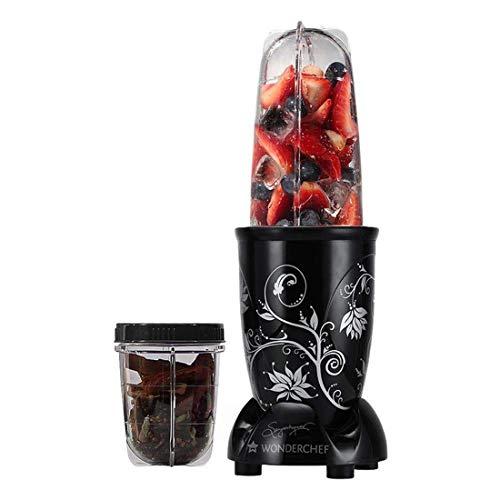Wonderchef Nutri-Blend 400 Watts Mixer Grinder with 2 Jars (Black)
