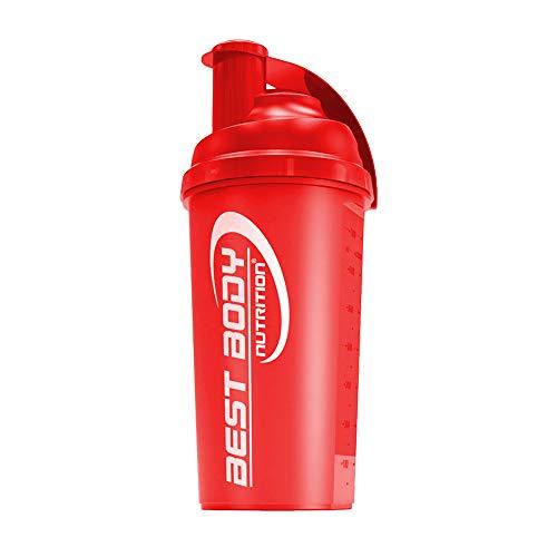 Best Body Nutrition Eiweiß Shaker 700ml, rot