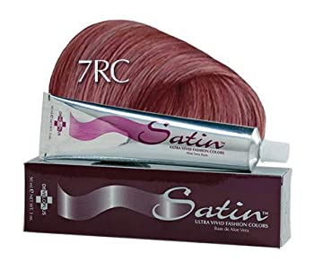 Satin Ultra Vivid Fashion Colors - Red Copper Series  7RC Red Copper Blonde