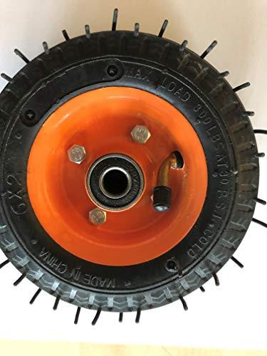 2Wheels4Fun 6 Zoll Ersatzrad für HOVERSEAT/HOVERKART - luftgefüllt 16 cm Durchmesser