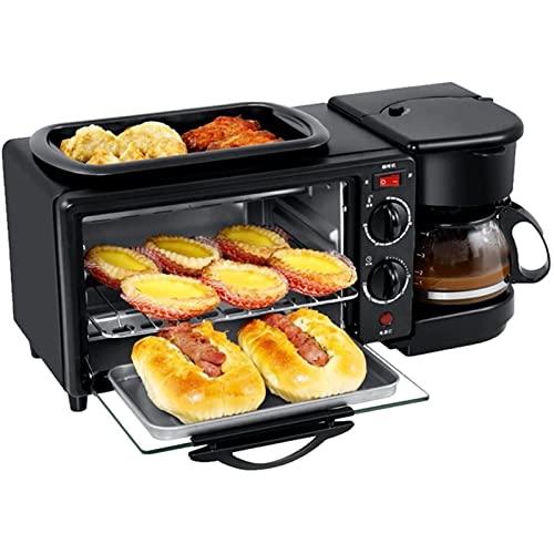 ZLQBHJ Máquina de Pan de 9L, 100-230℃ Temperatura Ajustable y 30 Minutos de Tiempo, Fabricante de café multifunción Horno de Pizza de Pizza Emelette Freying Toaster