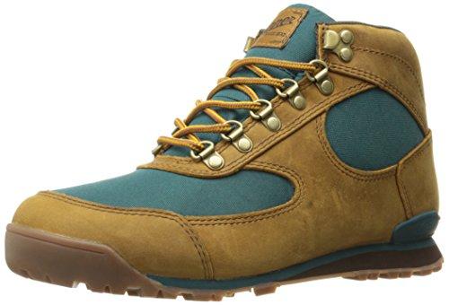 Danner womens Women's Jag Distressed Brown/Deep Teal Hiking Boot, Distressed Brown/Deep Teal - Full Grain, 8 US