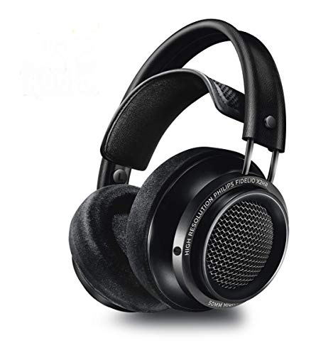 Philips Fidelio X2HR High Resolution Headphones with Velvet Cushions -...
