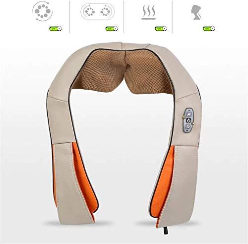 YXYNB Shiatsu Nacken- und Schultermassagegerät, Tiefenknetmassage mit Muskelwärme Schmerzlinderung Entspannen und lindern Sie Müdigkeit, Büro, Haushalt und Auto