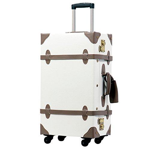 M型 パールホワイト/CHOCOLAT(ショコラ) TSAロック搭載 トランクケース 超軽量