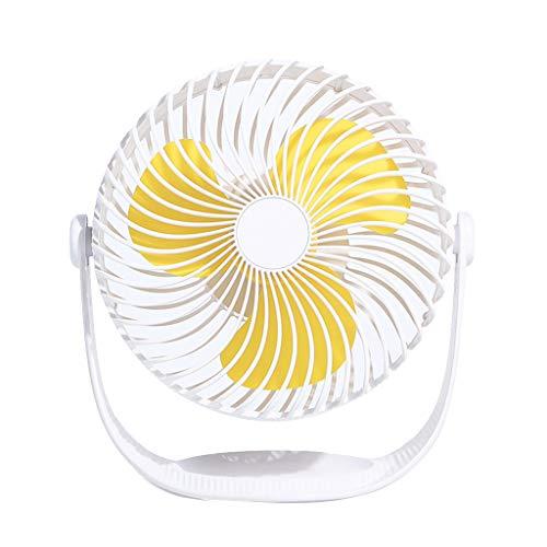 Mini Ventilador de Mano, JiaMeng Escritorio portátil Personal Cochecito Ventilador de Mesa Ventilador eléctrico de enfriamiento Pequeño Ventilador Eléctrico con Operación Ultra Silenciosa