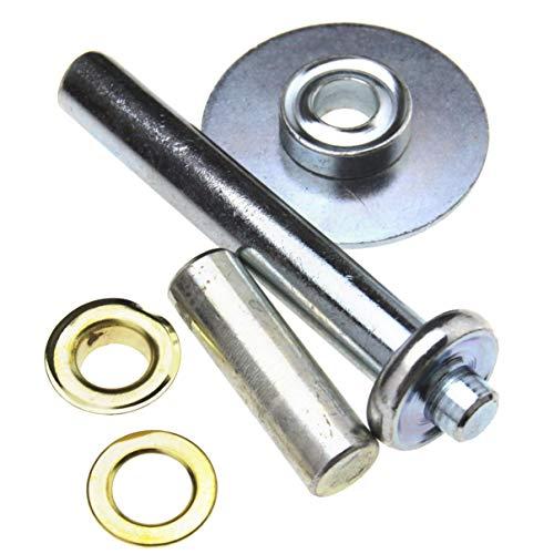 Betaling Tarp Reparatie Kit Tarps Zwembad Covers 103 stks 3 tools 50 Grommets en 50 Wasmachines